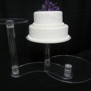 Cake Stand/Acrylic/3 level