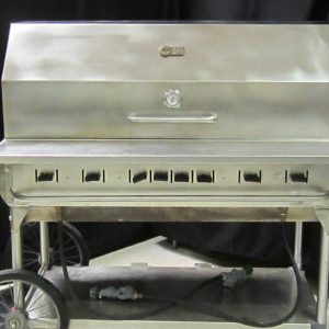 Bbq Propane Stainless Dome 48x20