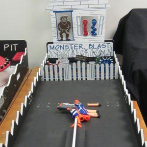 Game Case Monster blast