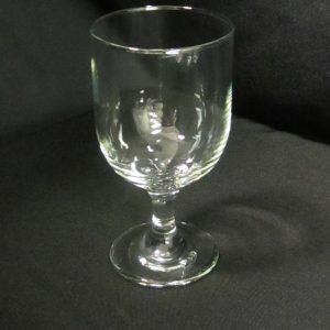 Glass Goblet Water