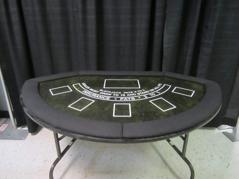 Black Jack table (sitdown)