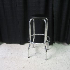 Stool (chrome/black)