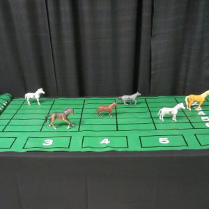 Wheel Horse Race CW 1 mat/6 horses