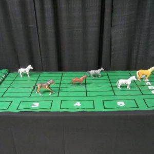 Wheel Horse Race CW 1 mat/6 horses