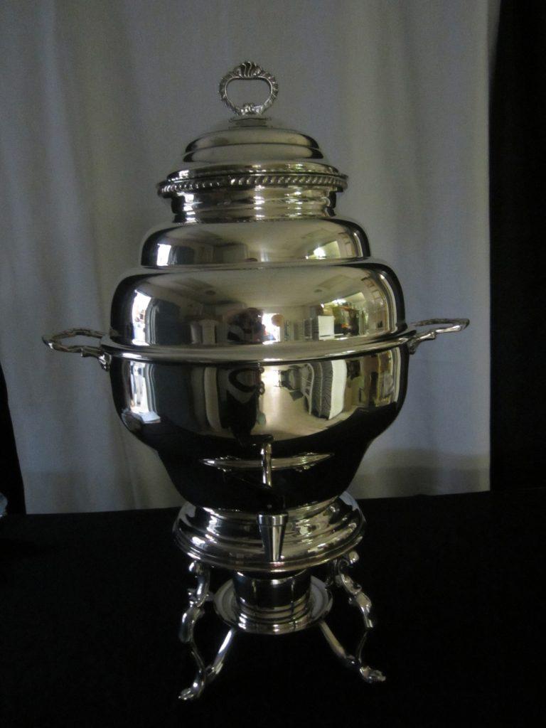 Samovar silver 100 cup