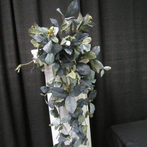 Bouquet Magnolia leaf blue