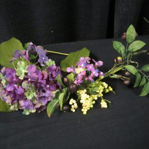 Spray Hydranga/Berry Purple